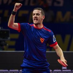 Dabang Smashers post narrow win over Falcons TTC in Ultimate Table Tennis