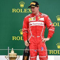 'I was very unlucky': Ferrari's Kimi Raikkonen rues tyre failure at Silverstone