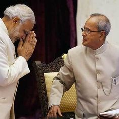 Your intellect and wisdom helped us work together, Modi tells Pranab Mukherjee in letter