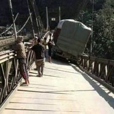 Supply line to Manipur cut off as crucial Barak Bridge collapses