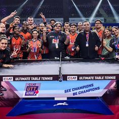 Oilmax-Stag Yoddhas edge out Shaze Challengers to post first win in Ultimate Table Tennis