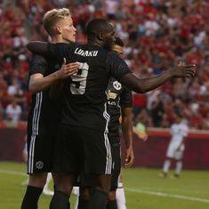 'Top striker' Romelu Lukaku opens account as Manchester United beat Real Salt Lake