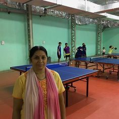 Meet Gohad Miss, the table tennis coach who also takes care of her pupils' academics