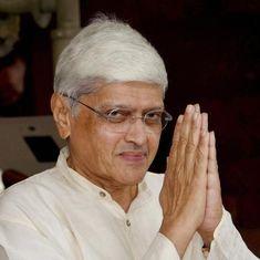 Gopalkrishna Gandhi says he has asked Nawaz Sharif to reconsider Kulbhushan Jadhav's death penalty
