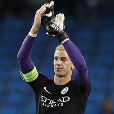 Manchester City outcast Joe Hart heads to West Ham United on season-long loan