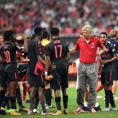 Despite being gunned down by food poisoning, Arsenal beat Bayern Munich in friendly