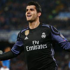 Chelsea agree €80 million deal for Real Madrid striker Alvaro Morata