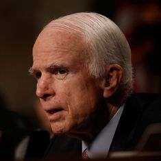 John McCain (1936-2018): The country the Republican hoped to lead no longer reflects his values