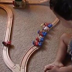 Watch this two-year-old promptly crack the famous 'trolley problem' (with no moral baggage)