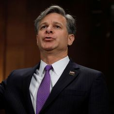 US Senate panel approves nomination of Christopher Wray as new FBI director