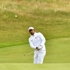 Golf: Lahiri slips down leaderboard in Jackson; Madappa, Gangjee advance in Incheon