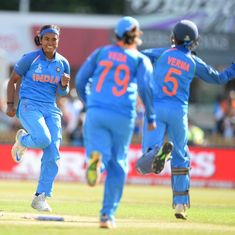 India storm into Women's World Cup final with 36-run win over Australia