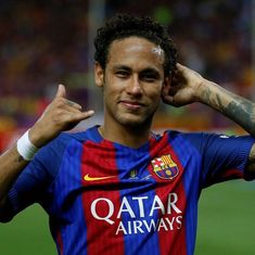 'He is one of us': Barcelona manager Ernesto Valverde dismisses talk of Neymar quitting club