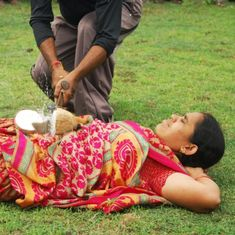 Video: Meet the couple from Andhra Pradesh that does death defying stunts every day