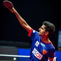 Sathiyan Gnanasekaran aims to break into the top-70 after stunning world No 8 Wong Chun Ting