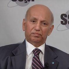 देश को पहला उपग्रह देने वाले इसरो के पूर्व प्रमुख यूआर राव का निधन