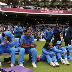'Chin up girls. You have done the country proud.': Twitter praises team India