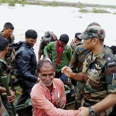 Thousands stranded, dams on high-alert: Scenes from the floods wreaking havoc across Gujarat