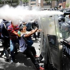 Video: The Venezuelan government's handling of the protesters is a gross violation of human rights
