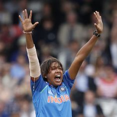 Jhulan Goswami returns, Rumeli Dhar retained in India's squad for T20I tri-series