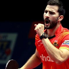Andrej Gacina, Han Ying steer Shaze Challengers to victory in UTT, close in on semi-final spot