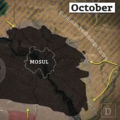 What happened in Mosul in the fight against the ISIS? This 82-second video tries to tell the story