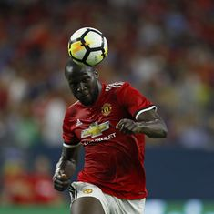 Manchester United's Romelu Lukaku says he is 'far from the level' of Cristiano Ronaldo, Lewandowski