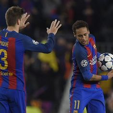 Sorry PSG, Neymar is staying with Barcelona: Gerard Pique