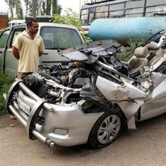 Delhi: Five of a family killed as truck crashes into Innova on NH-24
