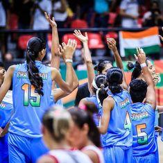 India through to FIBA Women's Asia Cup Division B quarter-finals