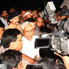 Lalu Prasad Yadav says Nitish Kumar resigned after conspiring with the BJP and RSS