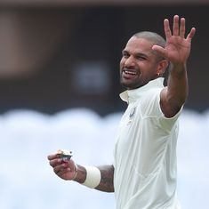 He wasn't even meant to be in Sri Lanka, but Dhawan makes the most of a golden chance