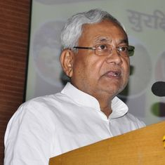 Nitish Kumar takes oath as Bihar chief minister with BJP's support