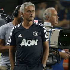 Manchester United far from the level of Barcelona when it comes to players: Jose Mourinho