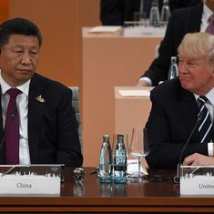 China's Xi Jinping tells Donald Trump to exercise restraint when dealing with North Korea standoff