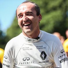 How Robert Kubica worked his way up to F1 testing 6 years after almost losing his arm in a crash