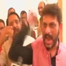 'Vande Mataram!' 'Jai Hind!' 'Go to Pakistan!': MLA vs MLA outside the Maharashtra Assembly