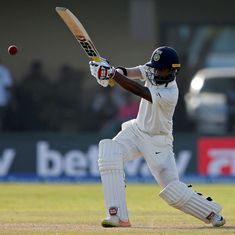 With long-awaited fifty, Abhinav Mukund just about manages to keep his foot in the door