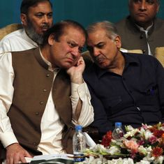 Down but not out: Nawaz Sharif is no longer prime minister but he will continue to rule Pakistan