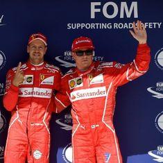Sebastian Vettel grabs pole at Hungarian Grand Prix with record-shattering lap