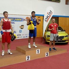 Shiva Thapa and Manoj Kumar lead India's gold rush in Czech Republic boxing tournament