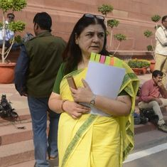 Union minister Maneka Gandhi suggests legalising marijuana for medical purposes