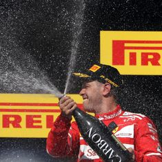 Vettel had to overcome steering wheel troubles, a much-faster Raikkonen to win Hungarian GP