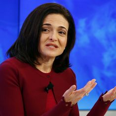 Video: Facebook COO Sheryl Sandberg's emotional speech is a lesson on bouncing back from hardship