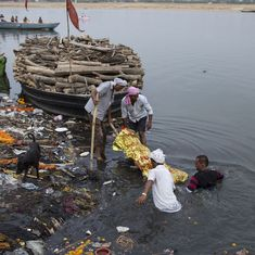 360° Video: Almost 5 billion litres of sewage is dumped into the river Ganga everyday