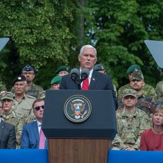 Islamabad must do more against terrorist groups, US Vice President Mike Pence tells Pakistan PM