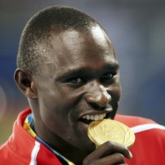 Athletics: Olympic champion David Rudisha ruled out for 16 weeks after suffering ankle fracture