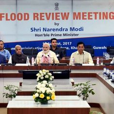 North East floods: PM Narendra Modi announces a Rs 2,000-crore relief package for affected states