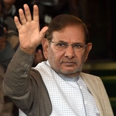 Sharad Yadav moves Delhi High Court against his disqualification from Rajya Sabha