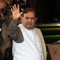 Trouble for Nitish Kumar? Sharad Yadav to tour Bihar, attend RJD's 'BJP Hatao Desh Bachao' rally